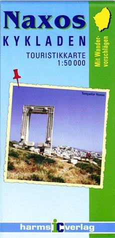 9783927468108: Naxos Tourist Map (Maps of Crete)
