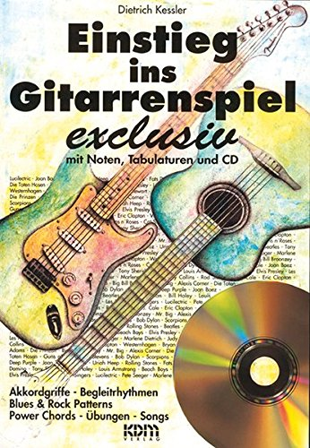9783927503694: Einstieg ins Gitarrenspiel exclusiv (Buch/CD)