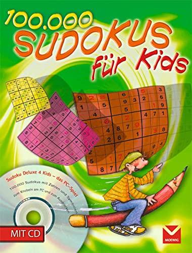 9783927801639: 100 000 Sudokus für Kids 8: 100 000 Rätsel zum Knobeln am PC und Ausdrucken