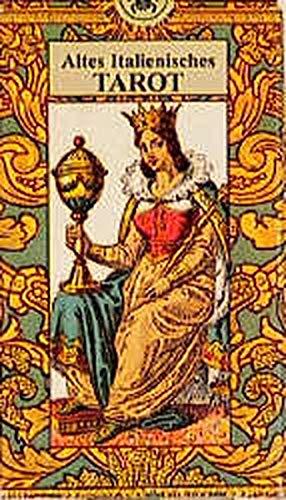 9783927808805: Altes italienisches Tarot: 22 große und kleine Arcana mit weissagender Deutung