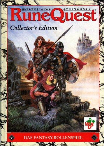 9783927903012: RuneQuest Collector's Edition: Das Fantasy-Rollenspiel (German Edition)