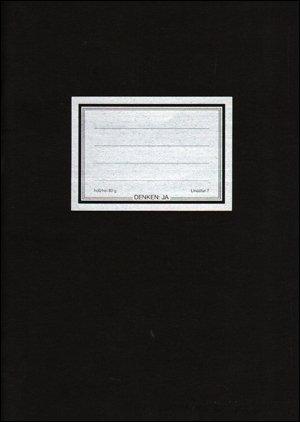 9783927941014: Denken : JA / Zeitschrift fŸr Tiegel & Tumult 1986 - 1990