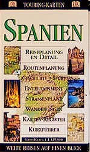 9783928044615: DK Touring-Karten, Spanien
