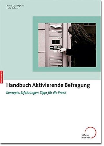 9783928053822: Handbuch Aktivierende Befragung: Konzepte, Erfahrungen, Tipps f�r die Praxis
