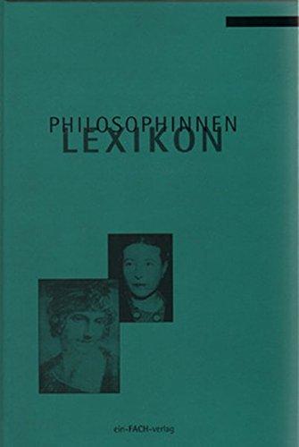 9783928089050: Philosophinnen Lexikon (German Edition)