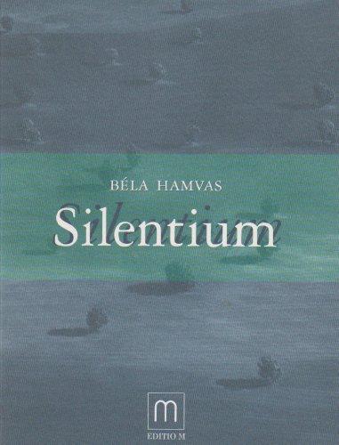 9783928190077: Silentium. Essays