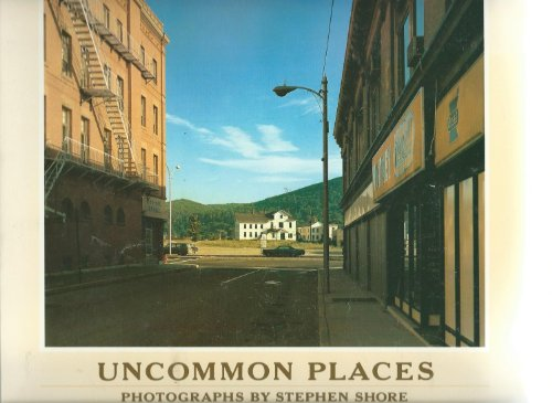 9783928224062: Uncommon Places 50 Unpublished Photographs 1973-1978