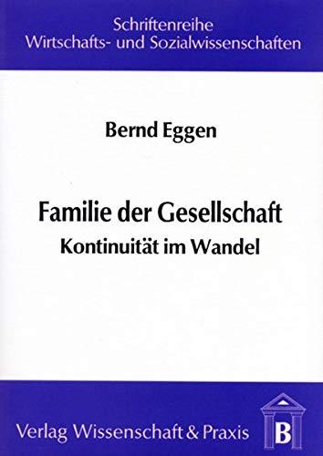 Familie der Gesellschaft: Bernd Eggen