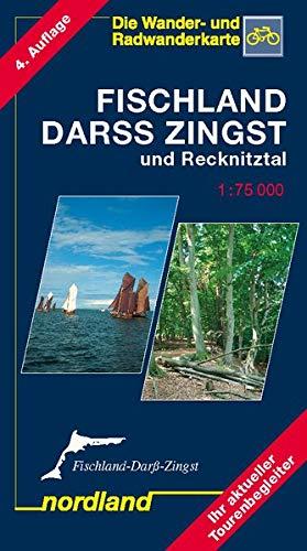 Deutsche Ostseeküste 05. Fischland, Darß, Zingst 1 : 75 000 und Recknitztal: Wander- und...