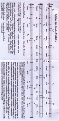 9783928616089: Sprachen sind Brücken, Kinder-CD (Livre en allemand)