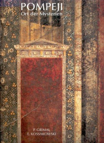9783928692069: Pompeji. Ort der Mysterien