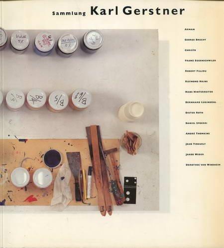 Sammlung Karl Gerstner. Arman, George Brecht, Franz