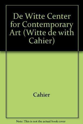 Witte de With Cahier # 7: Chevrier, Jean-Francois; Francois,