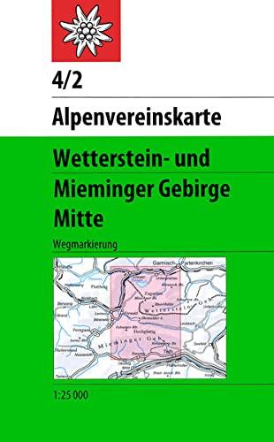 9783928777209: Wetterstein Und Mieminger Gebirge Mitte