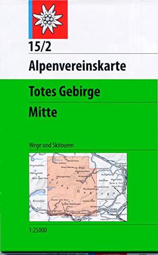 9783928777315: Totes Gebirge Mittleres Blatt