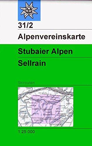 9783928777742: Stubaier Alpen Sellrain