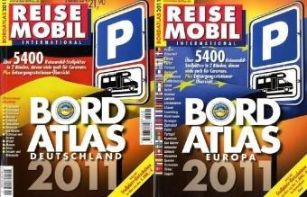 9783928803496: Bordatlas Deutschland / Europa  2011: Über 5500 Reisemobil-Stellplätze