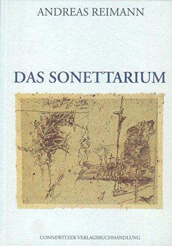 9783928833325: Das Sonettarium: 1975 bis 1995
