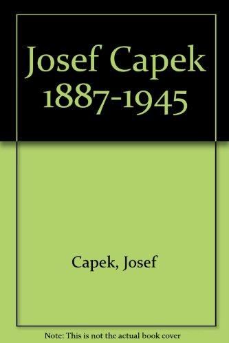 9783928844192: Josef Capek 1887-1945