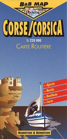 9783928855297: Corsica (B&B Road Maps)