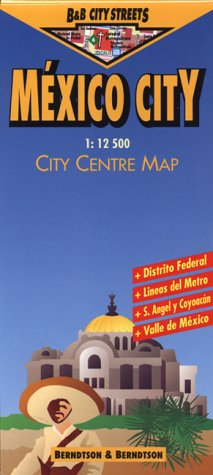 9783928855471: Mexico City (B&B city streets)