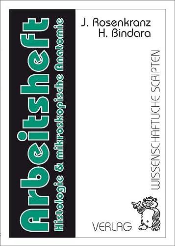 9783928921435: Arbeitsheft zur Histologie und mikroskopischen Anatomie
