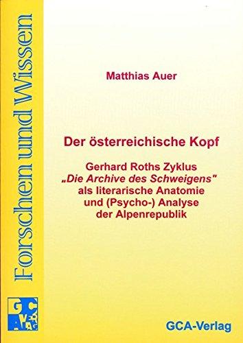 Der österreichische Kopf: Matthias Auer