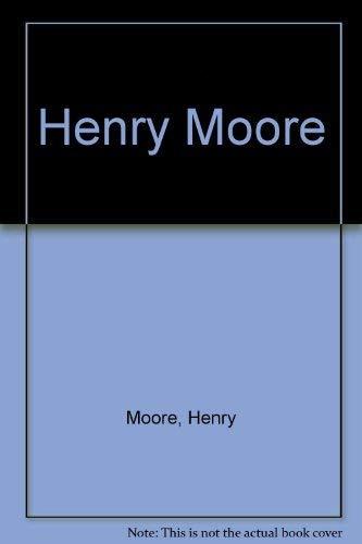 9783929040425: Henry Moore (German Edition)