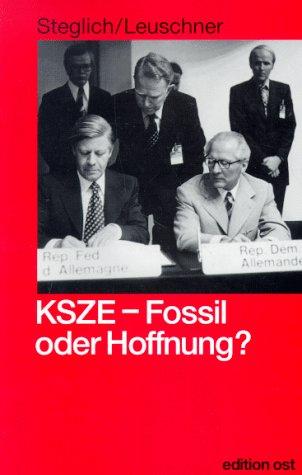 KSZE - Fossil oder Hoffnung ? (Rote Reihe)