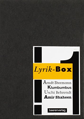 Lyrik-Box (Paperback): Arndt Stermann, Michael