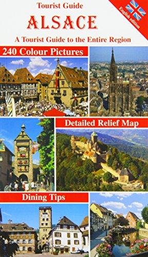 9783929228939: Tourist Guide Alsace : A tourist guide to the entire region