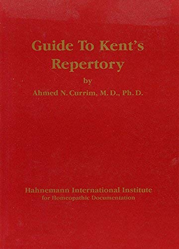 9783929271065: Guide to Kent's repertory [Paperback] by