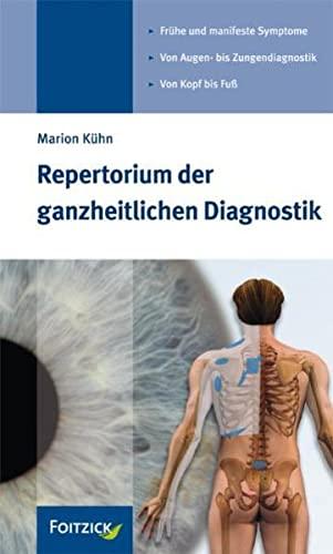 9783929338539: Repertorium der ganzheitlichen Diagnostik
