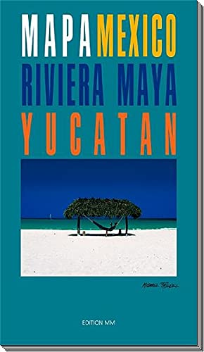 9783929489309: Yucatan, Riviera Maya Mexico Map