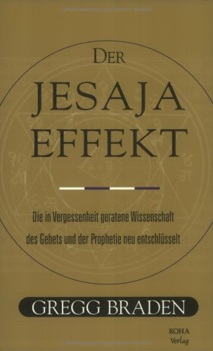 9783929512731: Der Jesaja Effekt