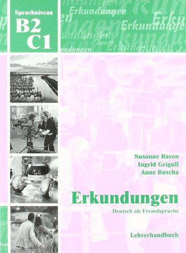 9783929526981: Erkundungen: Lehrerhandbuch B2 / C1 (German Edition)