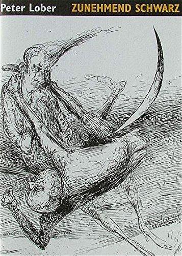 9783929566055: zunehmend schwarz: Gedichte mit zwei Originalholzstichen von Karl-Georg Hirsch. Signiert vom Autor und vom Graphiker (Livre en allemand)