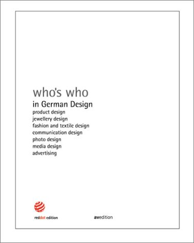 9783929638561: Who's Who in German Design