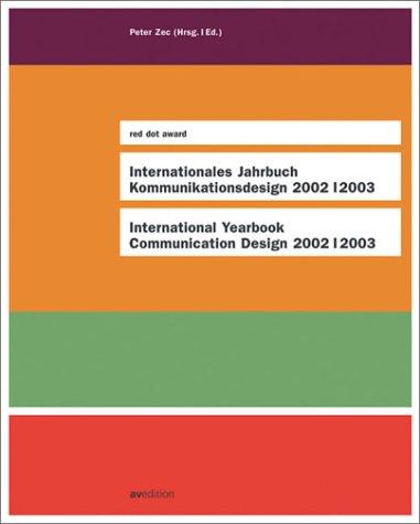 9783929638660: International Yearbook Communication Design 2002/2003: red dot award