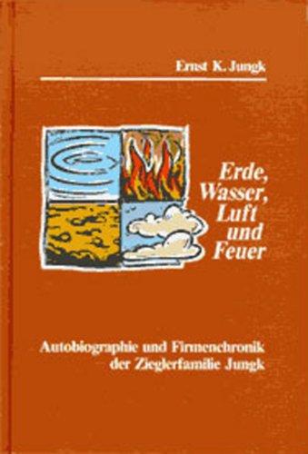 9783929773019: Erde, Wasser, Luft und Feuer.