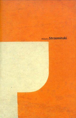 9783929790054: Wladyslaw Strzeminski 1893-1952