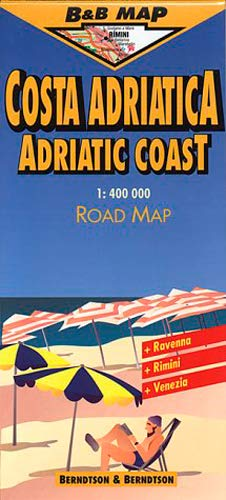 9783929811612: Adriatic Coast Map (B&B Road Maps)