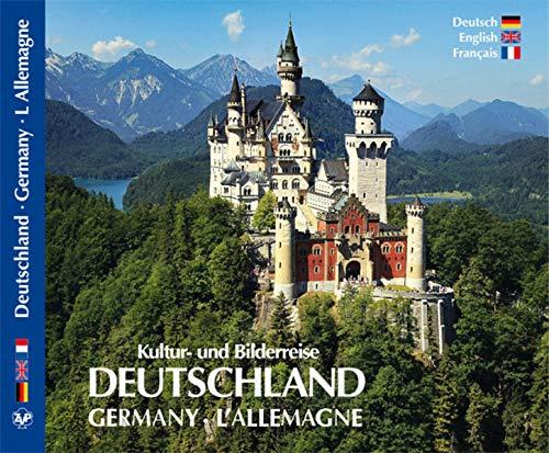 9783929932942: Kultur- und Bilderreise durch Deutschland.