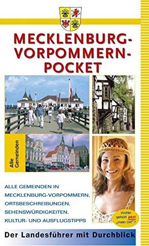 9783930027156: Mecklenburg-Vorpommern-Pocket: Alle Gemeinden in Mecklenburg-Vorpommern, Ortsbeschreibungen, Sehenswürdigkeiten, Kultur- und Ausflugstipps