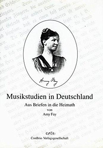 9783930079872: Musikstudien in Deutschland: Aus Briefen in die Heimath