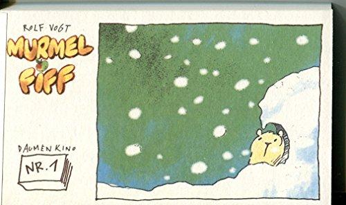 Daumenkino mit Murmel Fiff Nr. 1: Schnee: Rolf Vogt