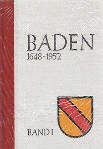 9783930158072: Baden 1648-1952 (Livre en allemand)