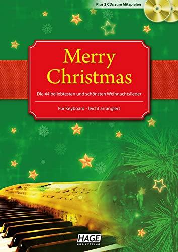 9783930159727: Alte und neue Weihnachtslieder Merry Christmas f�r Keyboard: Notenbuch. Die 45 beliebtesten und sch�nsten Weihnachtslieder