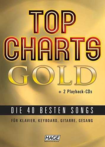 Top Charts Gold + Midifiles und 2 Playback CDs