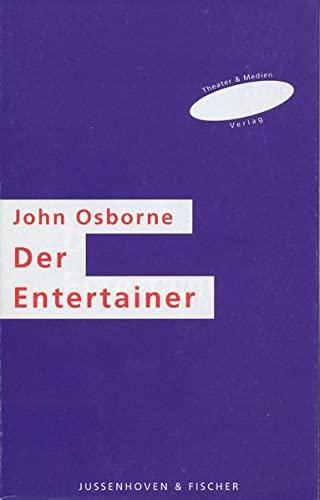 9783930226061: Der Entertainer